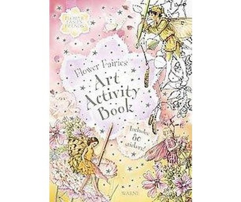 Flower Fairies Art Activity Book (Paperback) (Cicely Mary Barker) - image 1 of 1