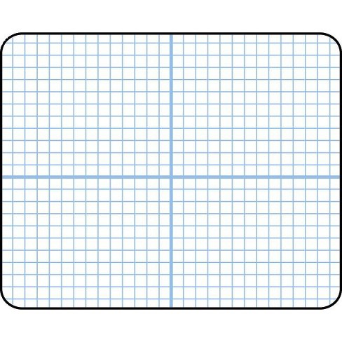 SI Manufacturing Double Sided Dry Erase Graph Board - image 1 of 1