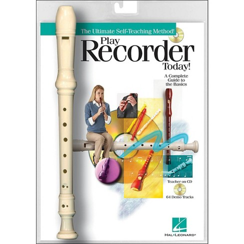 Hal Leonard Play Recorder Today! Book/Online Audio with Recorder Instrument - image 1 of 1