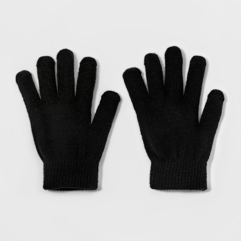 Gloves - Mossimo Supply Co.™ Black - image 1 of 1