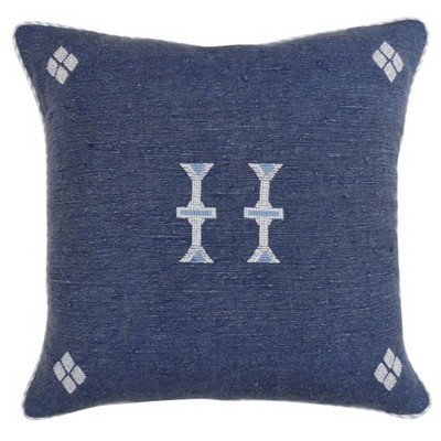 Global Square Pillow Blue - Threshold™