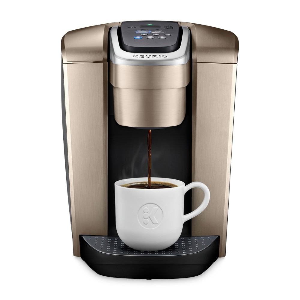 Keurig K-Elite Single-Serve K-Cup Pod Coffee Maker with Iced Coffee Setting - Gold Keurig K-Elite Single-Serve K-Cup Pod Coffee Maker with Iced Coffee Setting - Gold
