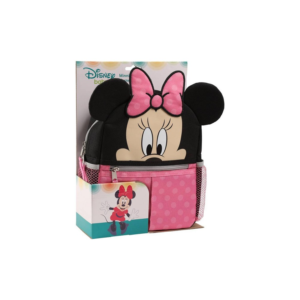 Image of Disney Minnie Mouse Diaper Bag, Pink