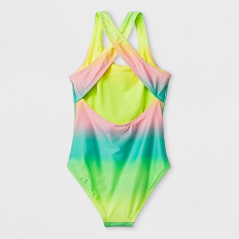 dd20118a355 Girls' Pineapple Vibe One Piece Swimsuit - Cat & Jack™. Shop all Cat & Jack