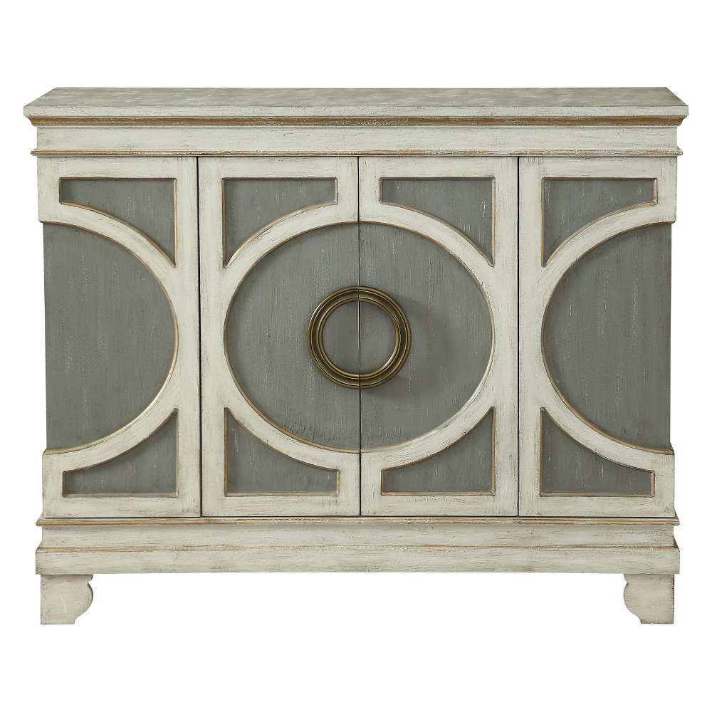 Christopher Knight Home Winter Haven Media Cabinet Cream/Gray (Ivory/Gray)