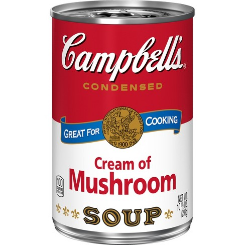 Campbell's Condensed Cream of Mushroom Soup - 10.5oz - image 1 of 8