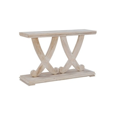 Breeland Console Table White - Powell Company