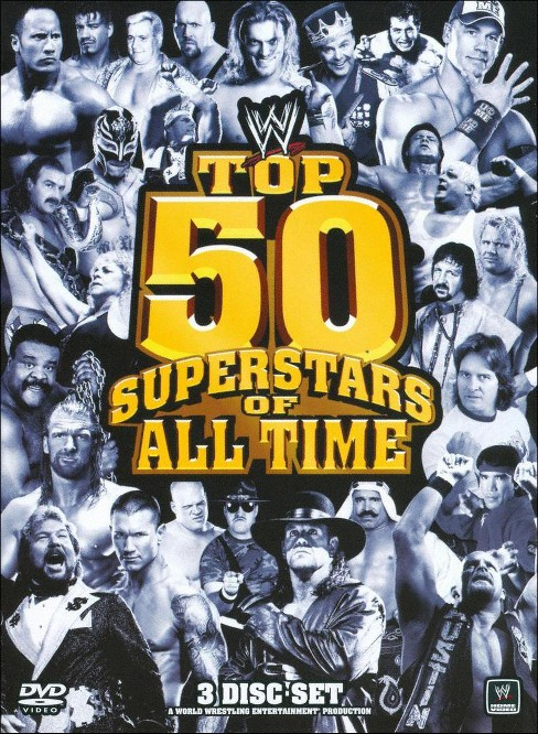 Top 50 Superstars Of All Time (DVD) - image 1 of 1
