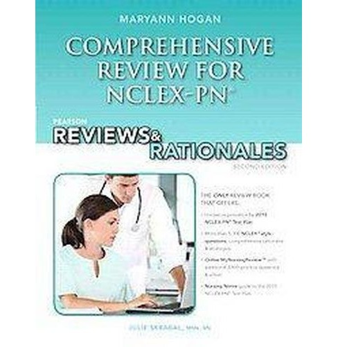 Pearson Comprehensive Review for NCLEX-PN : Pearson Reviews & Rationales (Paperback) (R. N. Mary Ann - image 1 of 1