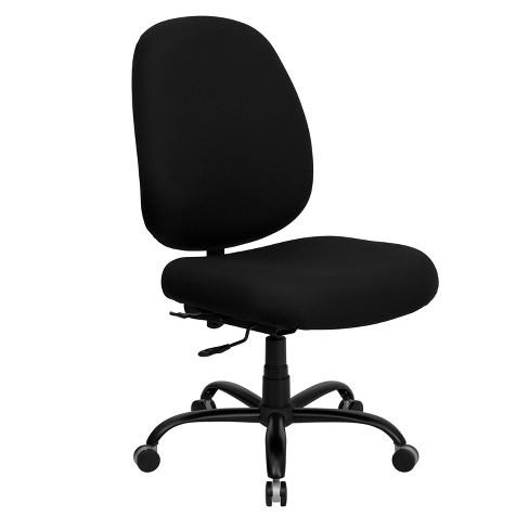 Awe Inspiring Hercules Series 400 Lb Capacity Big Tall Executive Swivel Office Chair Black Flash Furniture Theyellowbook Wood Chair Design Ideas Theyellowbookinfo