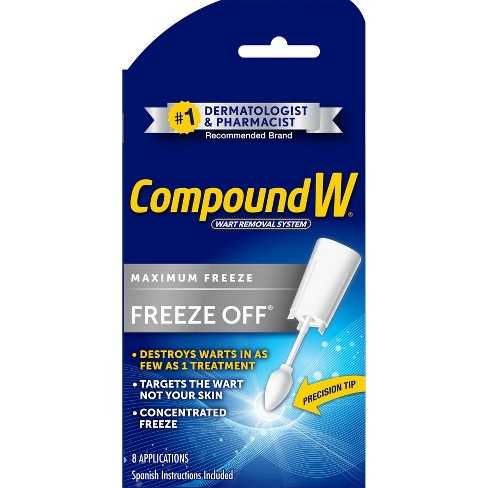 Compound W Freeze Off Wart Removal System - 8ct - image 1 of 4