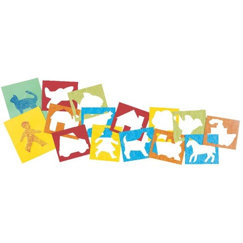 Roylco Child's First Stencil Set, 7 x 8 Inches, set of 15 - image 1 of 2
