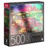 Cardinal Milton Bradley Premium Foil: Country Market Painting Jigsaw Puzzle - 500pc - image 4 of 4