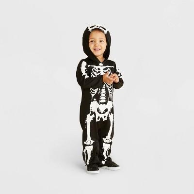 Toddler Skeleton Halloween Costume Jumpsuit - Hyde & EEK! Boutique™