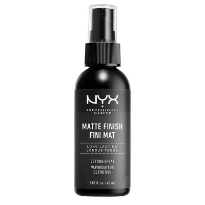 Face Makeup: NYX Professional Makeup Setting Spray Matte Finish