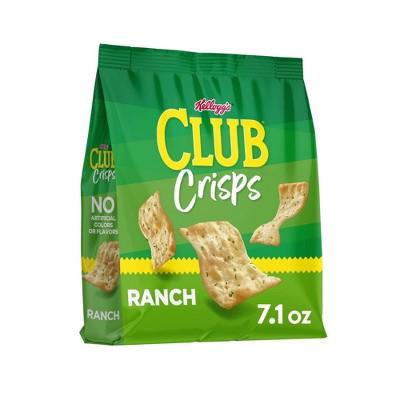 Club Crisps Ranch - 7.1oz