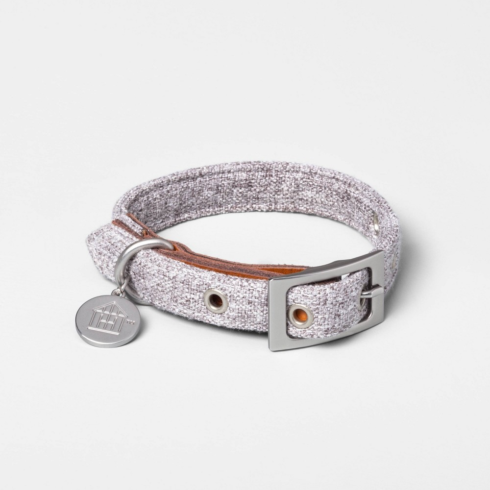 Image of Small Pet Collar Gray - Hearth & Hand with Magnolia