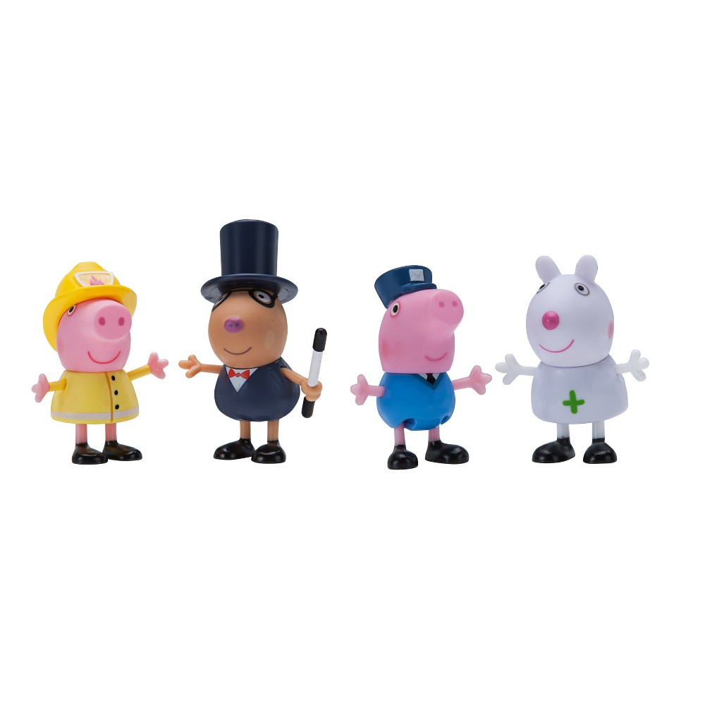 Peppa Pig 4pk Animal Figures - What I Want To Be