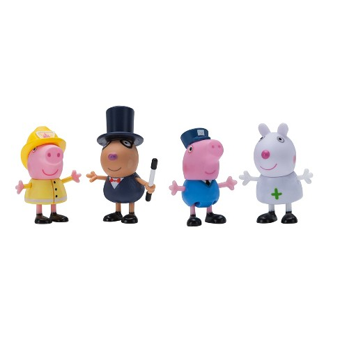 Peppa Pig 4pk Animal Figures - What I Want To Be - image 1 of 1