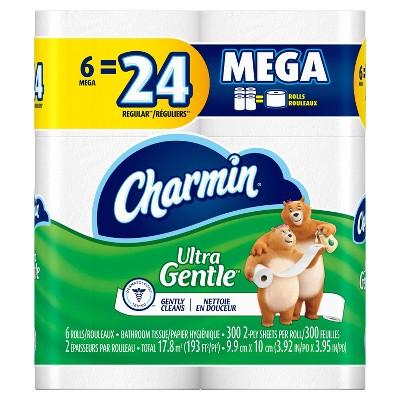 Toilet Paper: Charmin Ultra Gentle
