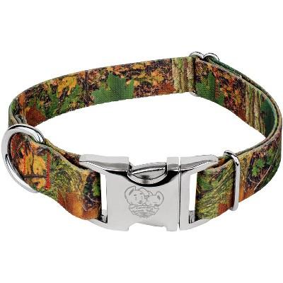 Ribbon on Orange heavy duty Webbing   Adjustable Dog Collar  washable  personalized dog collar  customized SOUTHERN FOREST dog collar