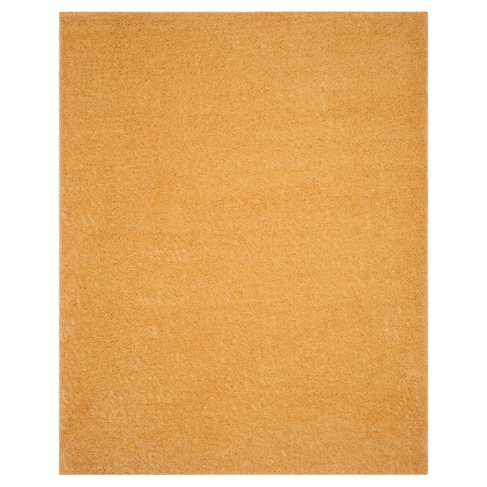 Gold Solid Loomed Area Rug - (8'X10') - Safavieh