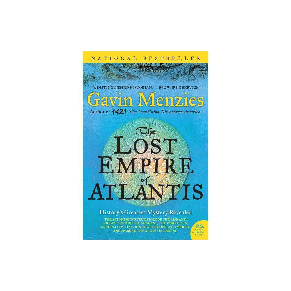 The Lost Empire Of Atlantis By Gavin Menzies Paperback