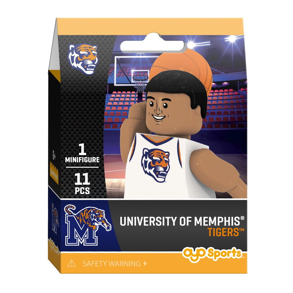 Memphis Tigers Oyo Minifigure Player Pack