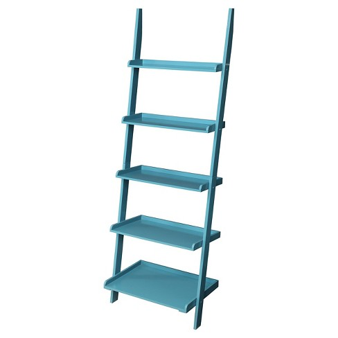 """French Country Ladder 72"""" 5 Shelf Bookshelf - Convenience Concepts - image 1 of 3"""