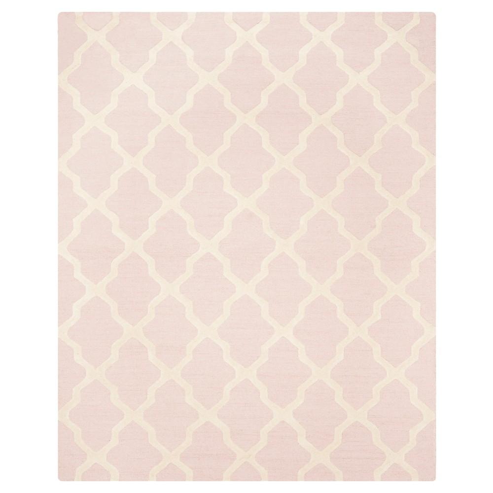 Maison Textured Rug - Light Pink / Ivory (10'X14') - Safavieh, Light Pink/Ivory