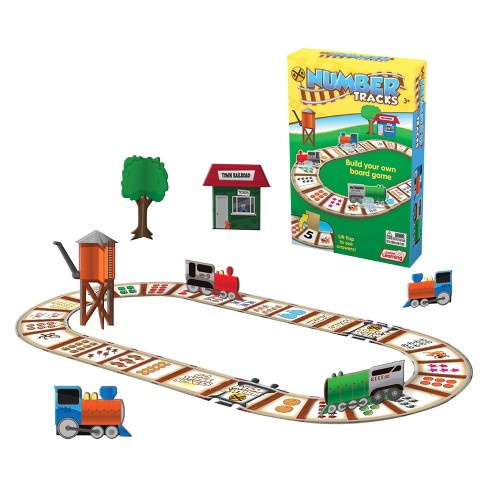 Junior Learning® Build Your Own Board Game - Number Tracks - image 1 of 2