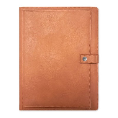 Padfolio with Notepad Letter Size Tan - Blue Sky