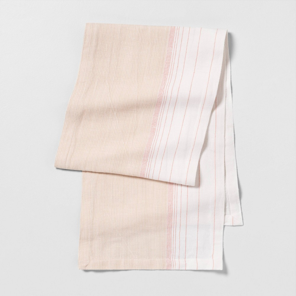 Ombre Runner - Dusty Pink Stripe - Hearth & Hand with Magnolia was $17.99 now $8.99 (50.0% off)