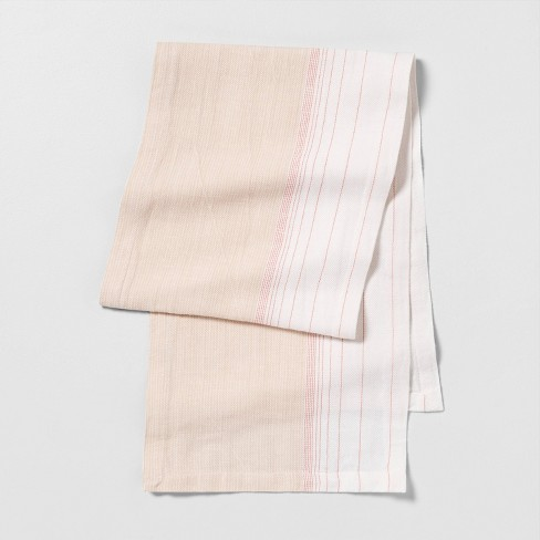 Ombre Runner - Dusty Pink Stripe - Hearth & Hand™ with Magnolia - image 1 of 2