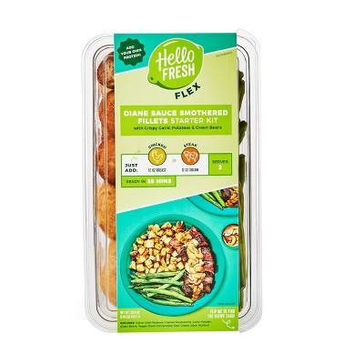 HelloFresh Flex Diane Sauce Entrée With Garlic Potatoes & Green Beans Meal Starter Kit - 23.8oz