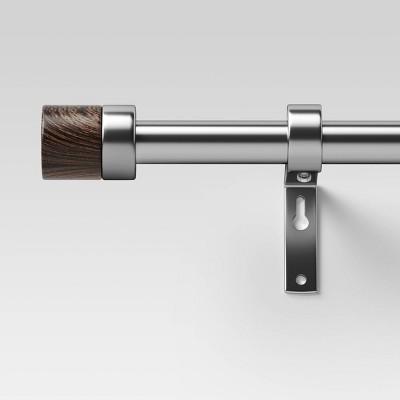 Walnut Wood Cap Curtain Rod - Project 62™