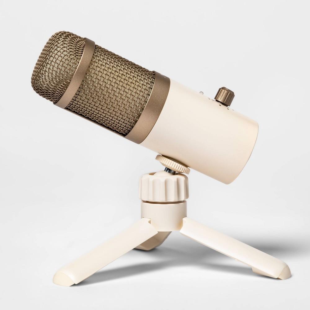 Heyday 8482 Desktop Microphone Stone White