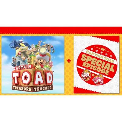 Captain Toad: Treasure Tracker + DLC Bundle - Nintendo Switch (Digital)