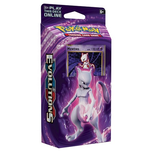 Pokemon Trading Card Game XY12 Theme Deck featuring Mewtwo - image 1 of 2