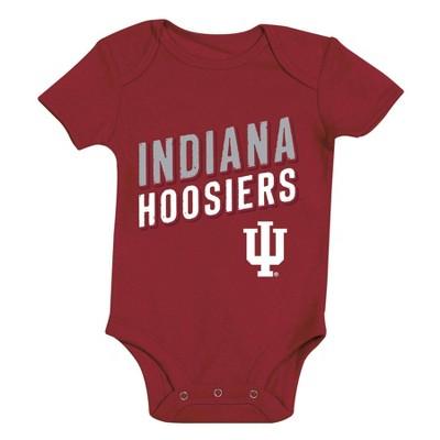 NCAA Indiana Hoosiers Baby Boys' 3pk Bodysuit Set - 6-9M