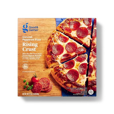 Self-Rising Crust Uncured Pepperoni Frozen Pizza - 30oz - Good & Gather™