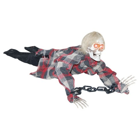 Halloween Reaper In Chains Animated - image 1 of 1