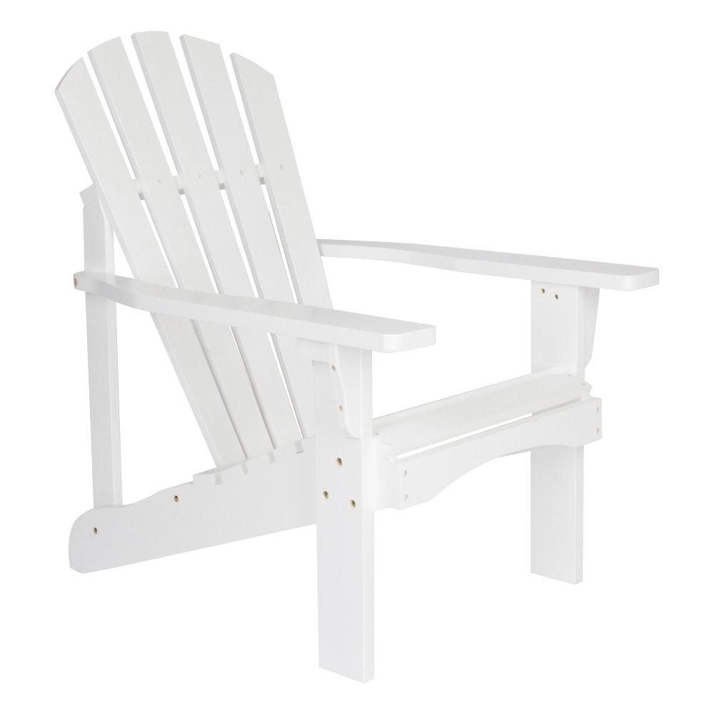 Rockport Adirondack Chair White - Shine Company Inc.