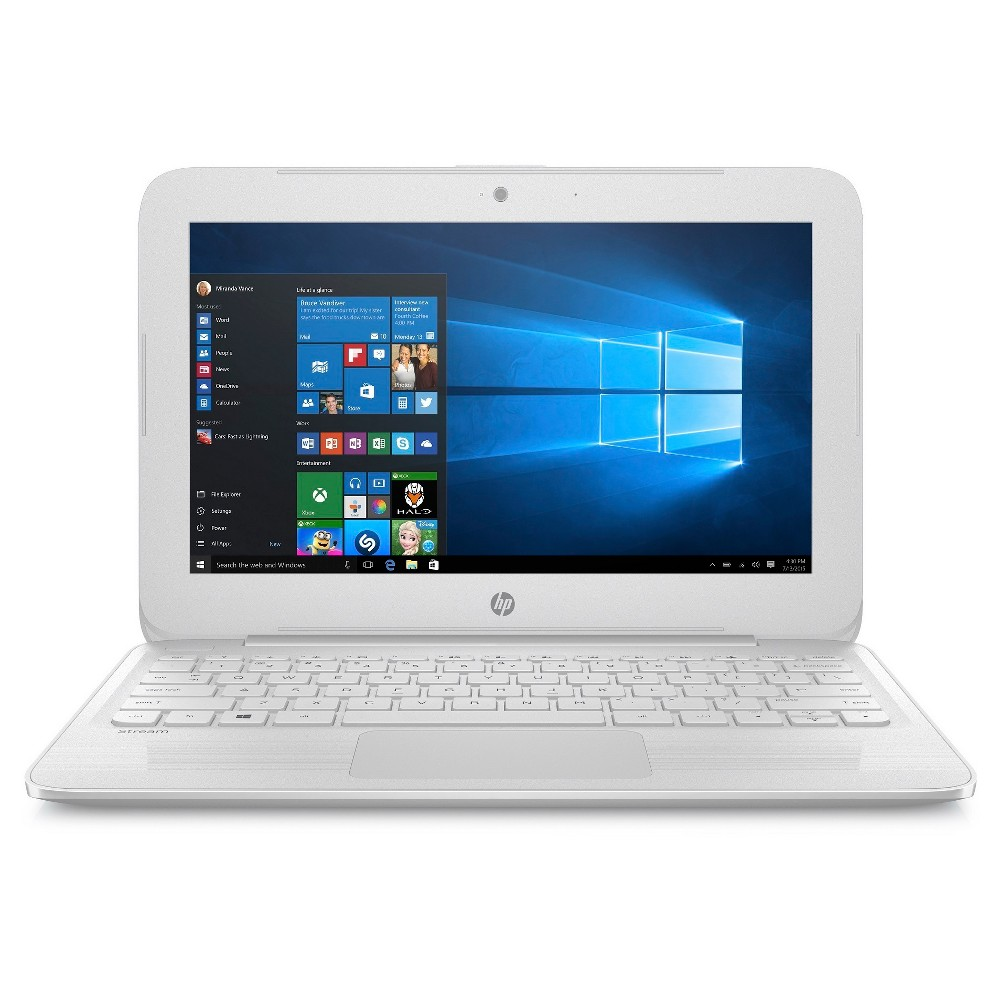HP Stream Laptop Notebook - White (X7V33UA#ABA)