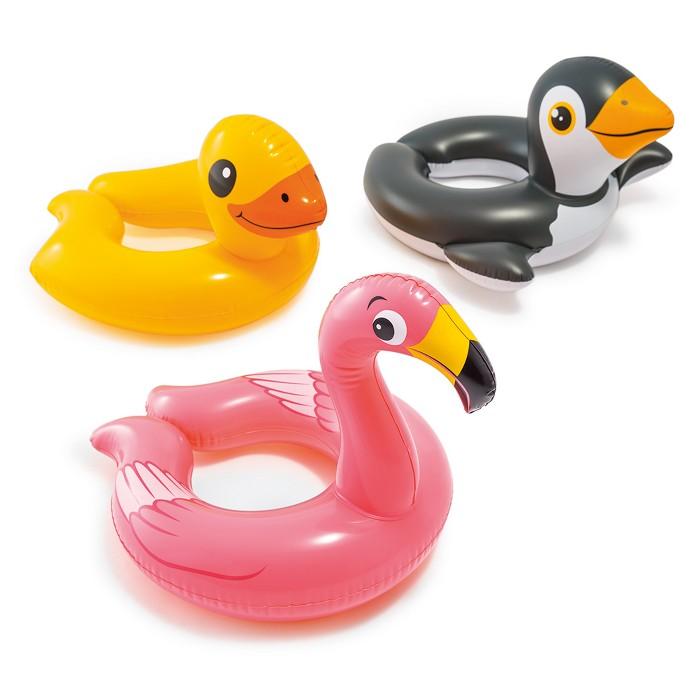 Intex Animal Split Ring Inflatable Swim Float, Design May Vary - image 1 of 4