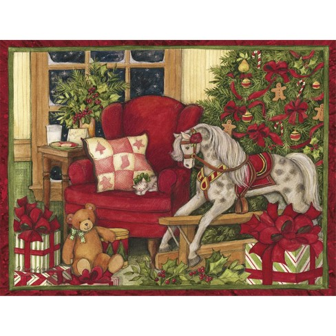 18ct Christmas Morning Holiday Boxed Cards - image 1 of 1