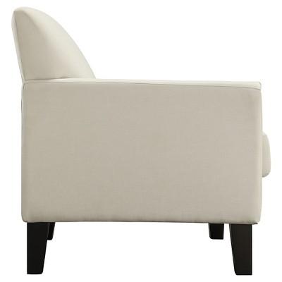 Metropolitan Arm Chair White   Inspire Q : Target