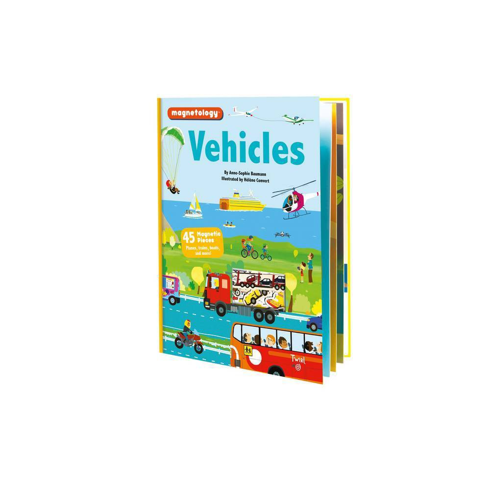 Magnetology Vehicles By Anne Sophie Baumann Hardcover