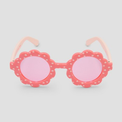 Baby Girls' Sunglasses - Cat & Jack™ Pink One Size