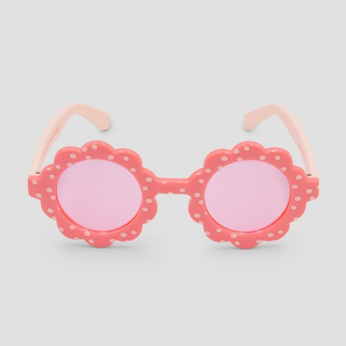 Baby Girls' Sunglasses - Cat & Jack™ Pink One Size - image 1 of 2